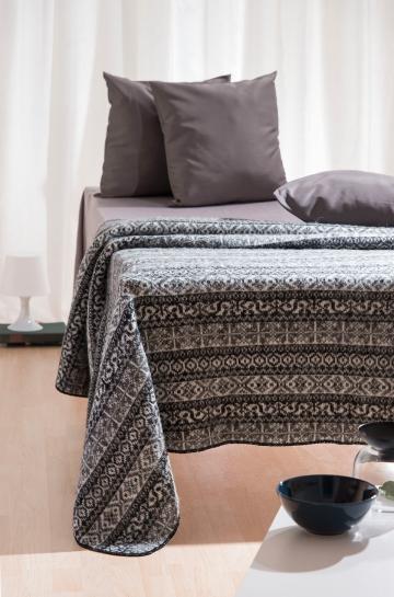damen strick umhang woll cape berwurf poncho schurwolle islandwolle grau ebay. Black Bedroom Furniture Sets. Home Design Ideas