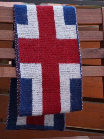 KIDKA 089 - Island Fan-Schal Wolle - 200 cm