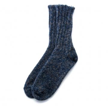 Isländische Wollsocken - blau
