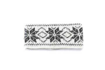 VARMA 029 Stirnband - weiß-grau