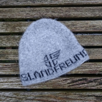 ISLANDFREUND Wollmütze - Onesize - Grau