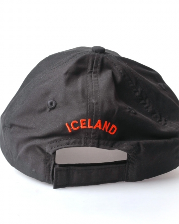 Island Basecap - Islandflagge - schwarz
