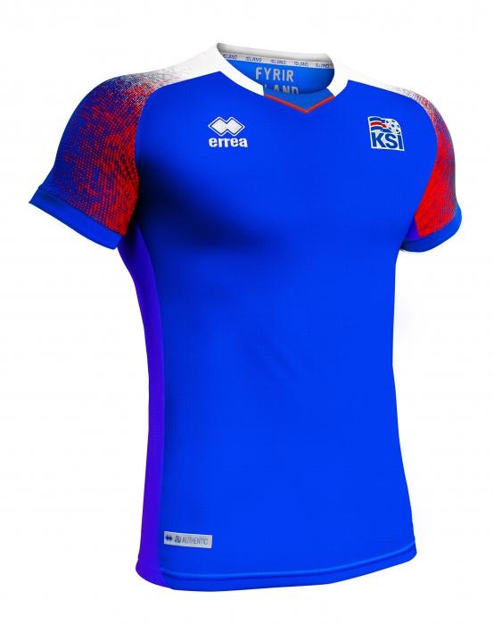 Fussball Trikot Islandische Nationalmannschaft