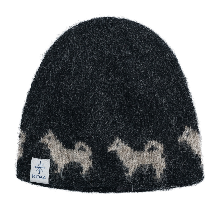 c21c2f244e2 Woolen hat - Icelandic sheepdog - black