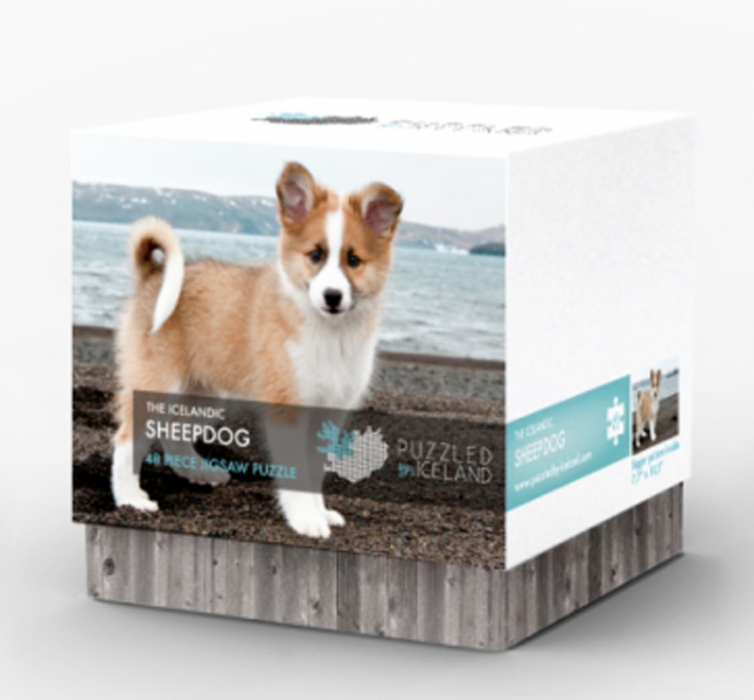 48 Pieces Puzzle - The Icelandic Sheepdog