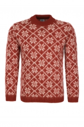 KIDKA 084 Icelandic Pullover - red