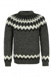 Hand-knit Icelandic Lopapeysa HSI-213 - grey
