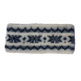 KIDKA 080 Stirnband Weiß - Schneeflocke
