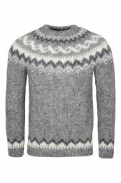 Icelandic Sweater HSI-220 - light grey