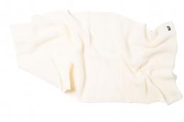 VARMA Wolldecke Islandwolle - weiß