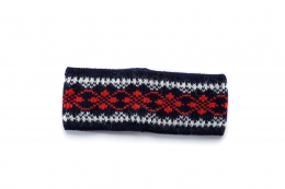 VARMA 017 headband patternd - blue