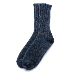 VARMA Icelandic Wool rag socks - blue