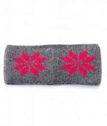 VARMA 023 Stirnband - grau-pink