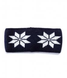 VARMA 024 Stirnband - dunkelblau-weiß