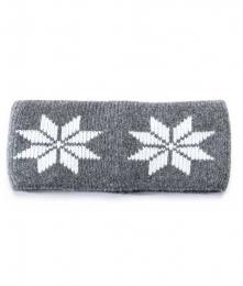 VARMA 026 Stirnband - grau-weiß