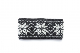 VARMA 027 headband - dark grey-white