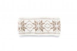 VARMA 030 Stirnband - weiß-beige