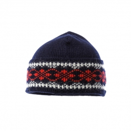 VARMA 041 icelandic wool hat - blue