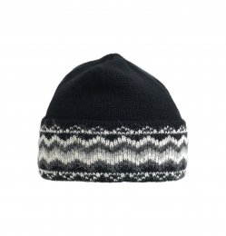 VARMA 079 Fanney wool hat - black