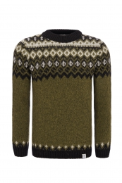 Icelandic Wool Jumper - Green