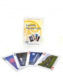 Spielkarten - Islandbilder - 52 Fotos
