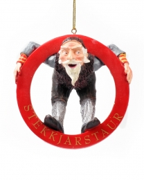 Baumschmuck - Isländischer Weihnachtsmann - Stekkjastaur