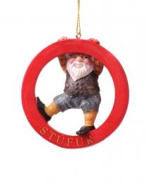 Baumschmuck - Isländischer Weihnachtsmann - Stúfur