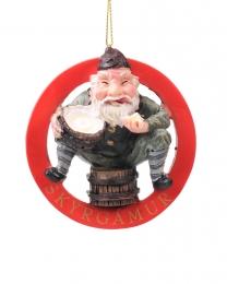 Baumschmuck - Isländischer Weihnachtsmann - Skyrgámur