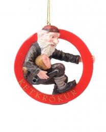 Baumschmuck - Isländischer Weihnachtsmann - Ketkrókur
