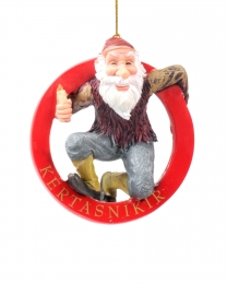 Baumschmuck - Isländischer Weihnachtsmann - Kertasníkir