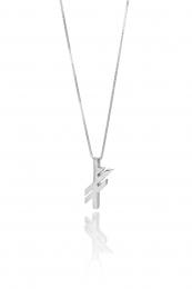 Alrún - Silberkette mit Anhänger - Glück