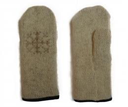 KIDKA 056 Mitaines de laine - beige