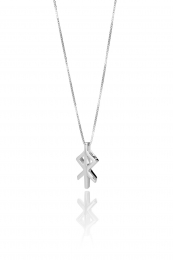 Alrún - Silberkette mit Anhänger - Herz