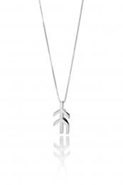 Alrún - Silberkette mit Anhänger - Hoffnung