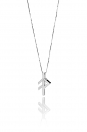 Alrún - Silberkette mit Anhänger - Anmut