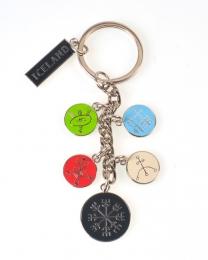 Schlüsselanhänger - Magische Symbole
