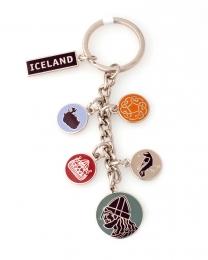 Schlüsselanhänger - Island Anhänger