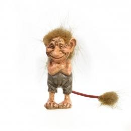 Spitzbübischer Isländischer Troll - Resin Figur