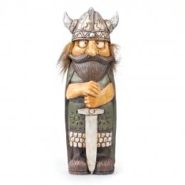 Wikinger mit Schwert - 18 cm
