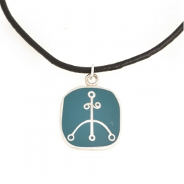 Halskette Cloisonné Imitation - Symbol Geschäftserfolg
