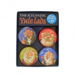 4 Magnete - Isländische Weihnachtsmänner - Set 1