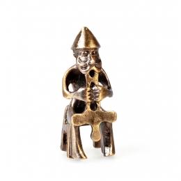 Thor Figur - sitzend - mit Mjölnir