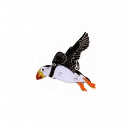 Anstecker - Pin - Fliegender Papageientaucher