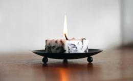 Railis Design Candle - Isländische Duftkerze Moos 3 cm