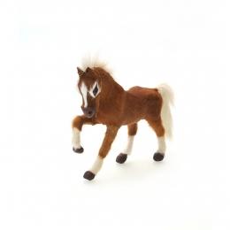 Islandpferd - braun - 12 cm
