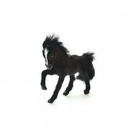 Islandpferd - schwarz - 12 cm