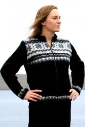 KIDKA 005 Veste en tricot Femme - noir