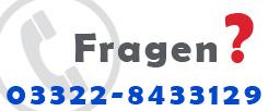 Unsere Telefonnummer f�r R�ckfragen 03322-8433129
