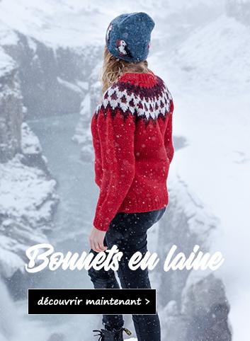 Wollm�tzen aus Island